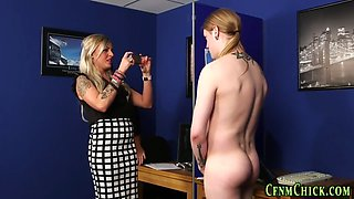 cfnm domina on her knees