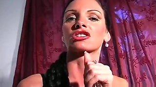 Mistress Ties Up Her Slave And Gives Him A Cook Jerking