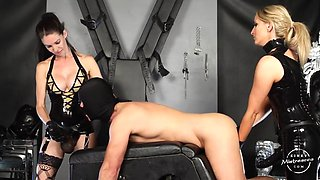 kinkymistresses - double strap-on fuck