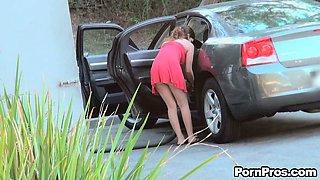 Public Panty Yank / Cindy Cooper