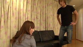 Best Japanese whore Honami Takasaka in Fabulous Secretary, Facial JAV clip