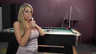 Smokey Blow Job In a Bar