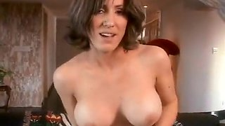 Hot MILF Takes Double Insertion