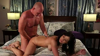 Stepmother fucked by hubby with passion