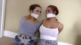 Cali &amp maddy ... all tied up