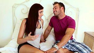 Teen Miranda loses her virginity to Chad