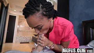 mofos - ebony sex tapes - julie kay - big booty nurse heals