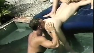 Nothing like Slot Licking Rod Blowing Orgy by the Pool