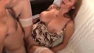 Nasty MILF Bitch Anal Abuse