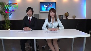 Compilation of hardcore office scenes with a Japanese girl