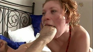 Porn Music Video - Redhead gets Facially and Anally abused