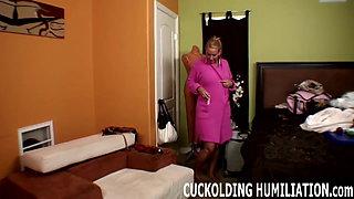Watch me take a big black cock like a total slut