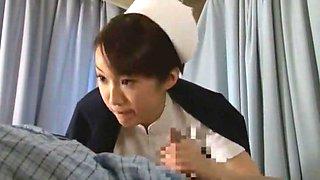 Hottest Japanese slut Aya Sakuraba, Yuri Aine, Yu Kawakami in Exotic Nurse JAV movie