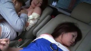 Hottest Japanese girl in Fabulous Dildos/Toys, Car JAV movie