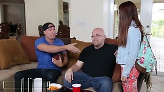 BANGBROS - Innocent Teen 18yo Sally Squirt Gets Banged Out By Sean Lawless