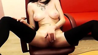 Real amateur cfnm spex babe swallowing stripper cum at party
