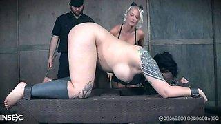 real time bondage for luna lavey