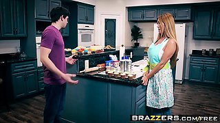 Brazzers - Mommy Got Boobs -  Bake Sale Bang