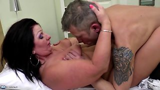 Best of MOM SON taboo sex scenes