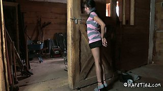 Picked up whore is fucked and punished in the basement