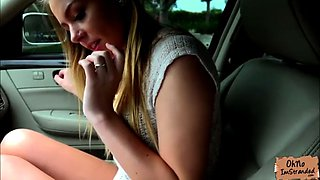 natural teen alex blake wet pussy fucked in the car