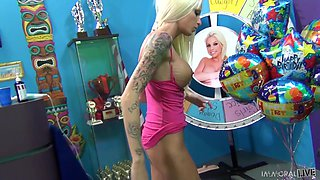 Blonde Angel Gets Nailed