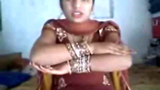 Indian newly married village bhabhi enjoyed full