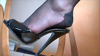 Incredible homemade Fetish, High Heels adult clip