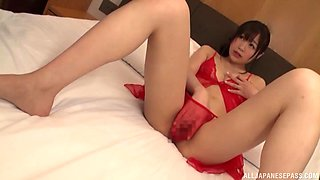 Japanese MILF Ayaha Miori abused by many dudes with toys