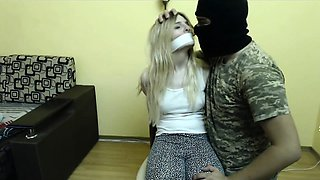 ROUGH SEX FOR BLONDE TEEN ON WEBCAM