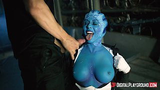 Rachel Starr is a blue lady fucked well by a horny lover