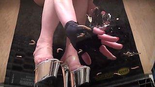 Mistress Kane underglass crush