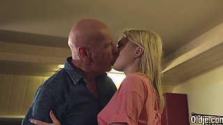 young woman have sex with an older lover