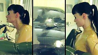 rubber clinic by Cheyenne de Muriel
