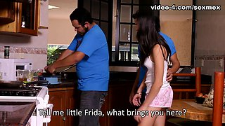 Frida Santee in Kitchen Video - SexMex