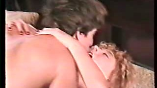 Young Nina Hartley doing anal for the first time