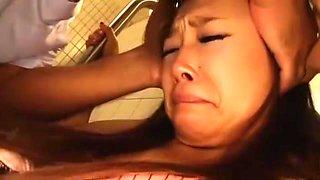 Horny Japanese girl Sena Ayumu, Hinano Harumiya, Ryoka Yuzuki in Exotic Hardcore, Bus JAV video