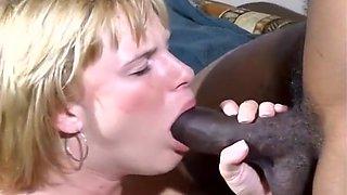 Sunrise Struggles With Huge Black Penis