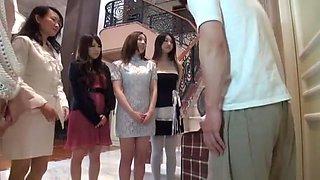 Fabulous Japanese whore Azumi Mizushima, Yuri Sato 2, Maki Mizusawa in Crazy Babysitters, Voyeur JAV scene
