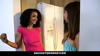 DaughterSwaps - Teens Agree To Fuck Each Others Daddies