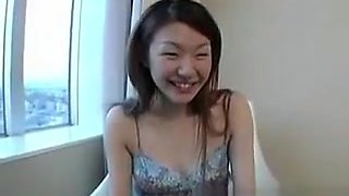 Pregnant Young Asian Takes Off Clothes