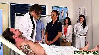 Fetish uniformed nurses