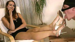 Mistress expensive high heels