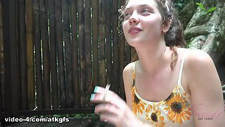 Elena Koshka in You Take Elena To Tioman, And She Cant Wait To Suck You Off Outside - ATKGirlfriends
