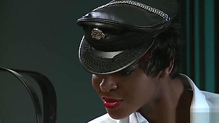 BDSM XXX Horny Black Mistress enjoys every inch of her subs