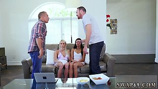 Homemade bisexual family orgy The Suggestive Swap