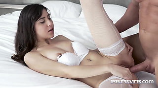 Private.com Brunette loses her anal virginity