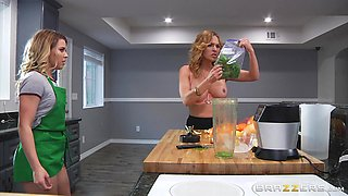 The sexiest lesbian action ever with alluring blonde Krissy Lynn