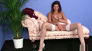 Naughty Centerfold Gets Sperm Load On Her Face Swallowing Al