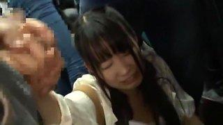 Hottest Japanese slut Yuri Hasegawa, Yuki Itano, Kami Kimura in Horny Facial, Gangbang JAV video
